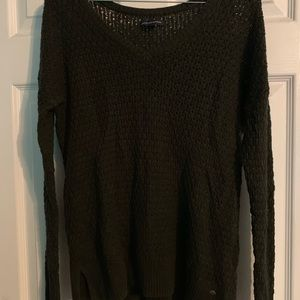 American Eagle olive green sweater